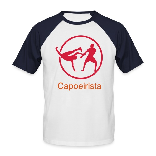 Capoeira T-Shirt - Men's Baseball T-Shirt