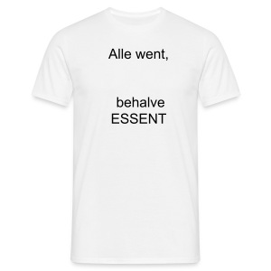 Essent 1 - Mannen T-shirt