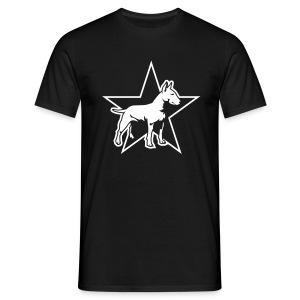Star Bull Terrier - T-shirt Homme