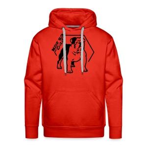 Bulldog Not so Bad - Sweat-shirt à capuche Premium pour hommes