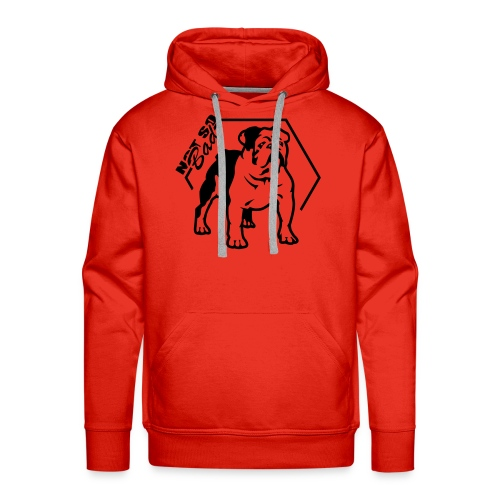 Bulldog Not so Bad - Sweat-shirt à capuche Premium pour hommes