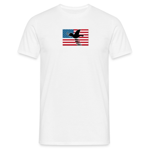 god bless america - Männer T-Shirt