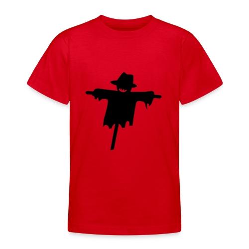 T-Shirt blanc Halloween Epouvantail devant - T-shirt Ado