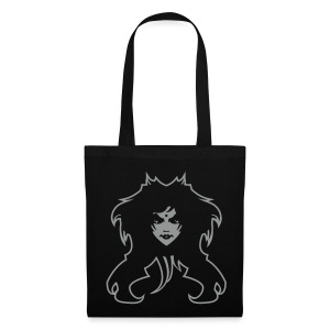 Sac noir Halloween Witch - Tote Bag
