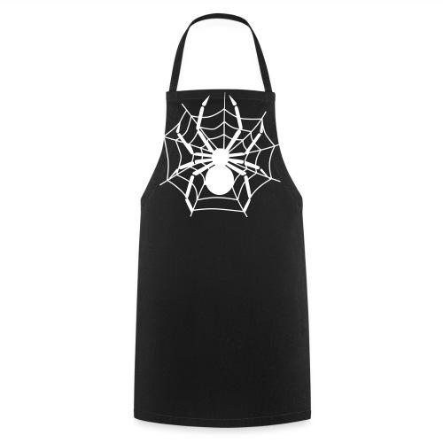 Tablier noir Halloween Spider - Tablier de cuisine