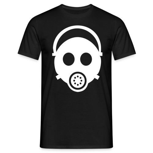 Gas Mask Who Farted? T-Shirt - Men's T-Shirt