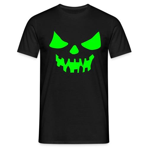 NAAMA musta/neonvihreä - Miesten t-paita