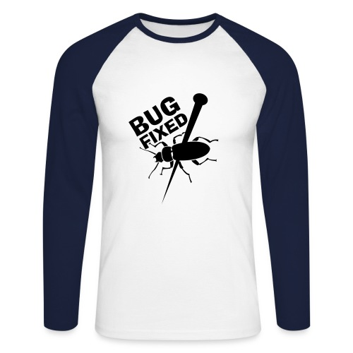 Bug1ML - T-shirt baseball manches longues Homme