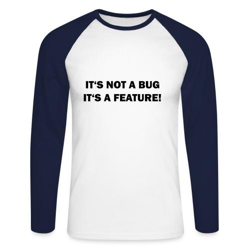 Bug2ML - T-shirt baseball manches longues Homme