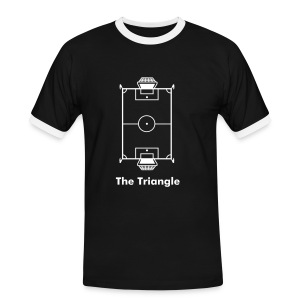 The Triangle Tee (Retro Tee) - Men's Ringer Shirt