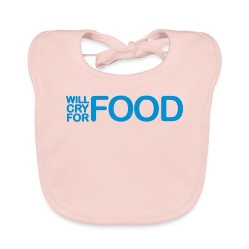 Cry For Food bib! - Baby Organic Bib