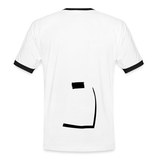013-003 - Kontrast-T-skjorte for menn