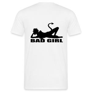 Bad girl - Mannen T-shirt