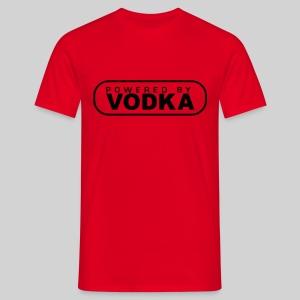 promo sted rot - Männer T-Shirt