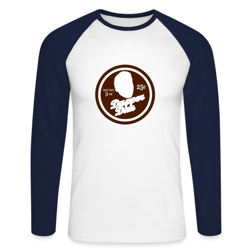 Dapper Dan - Men's Long Sleeve Baseball T-Shirt