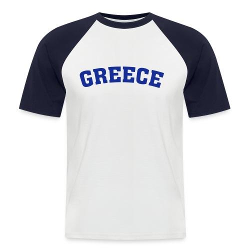 Greece-Shirt - Männer Baseball-T-Shirt