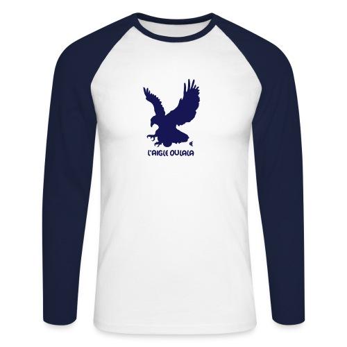 L'aigle Oulala - vous pouvez choisir la couleur du tee shirt - T-shirt baseball manches longues Homme