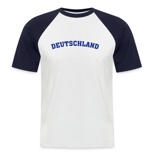 EM Raglan kurz 01 - Männer Baseball-T-Shirt