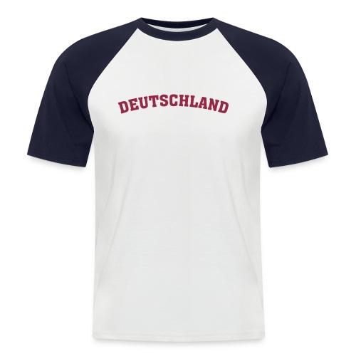 EM Raglan kurz 02 - Männer Baseball-T-Shirt