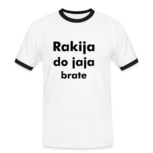 Rakia do jaja.... - Men's Ringer Shirt