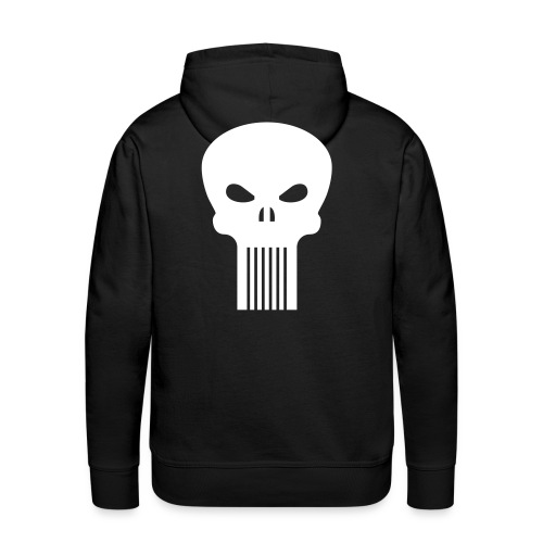 Punisher Pulli Back - Männer Premium Hoodie