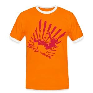 big up 001 - T-shirt contrasté Homme