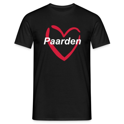 T-Shirt Love paarden - Mannen T-shirt