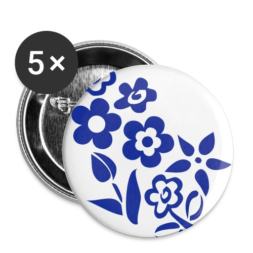 Buttons large 2.2''/56 mm(5-pack)