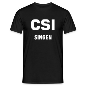 City-Fun-Shirt Singen  - Männer T-Shirt