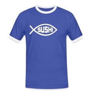 Sushi - Mannen contrastshirt