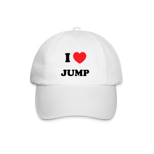 pet i love jump - Baseballcap