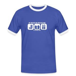 freeride - Mannen contrastshirt