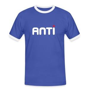 anti - Mannen contrastshirt