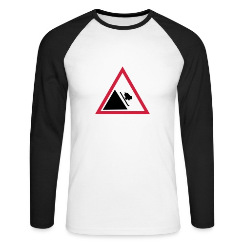 t-shirt manches longues+ogo - T-shirt baseball manches longues Homme