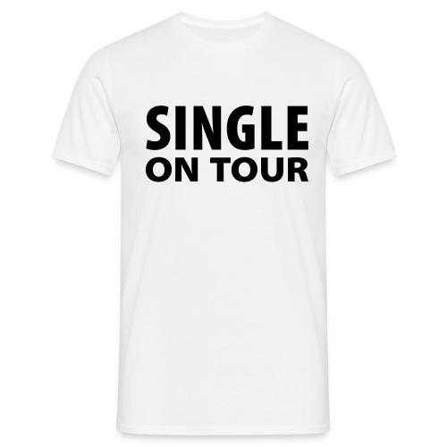 Single on tour - T-skjorte for menn