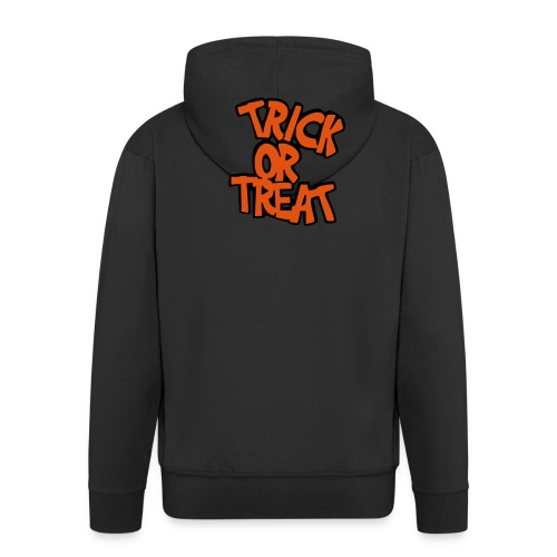 Happy Halloween - Felpa - Felpa con zip Premium da uomo