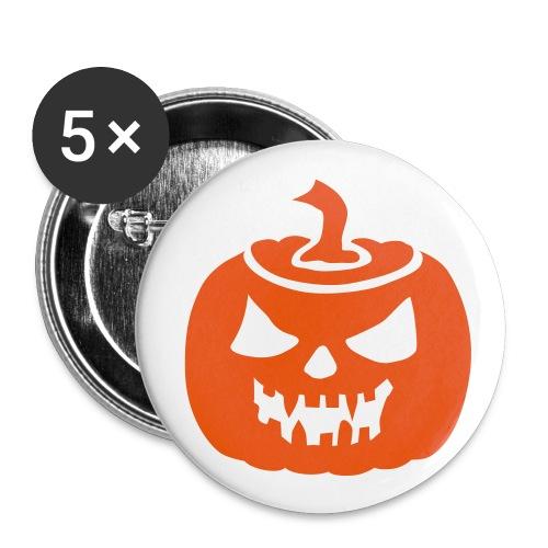 Happy Halloween - spillina - Confezione da 5 spille piccole (25 mm)