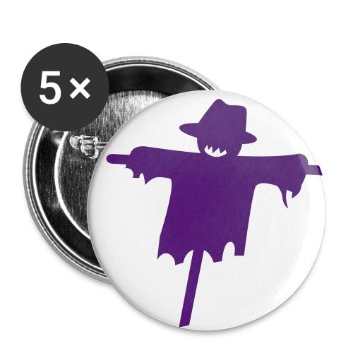 Happy Halloween - Spillina - Confezione da 5 spille grandi (56 mm)