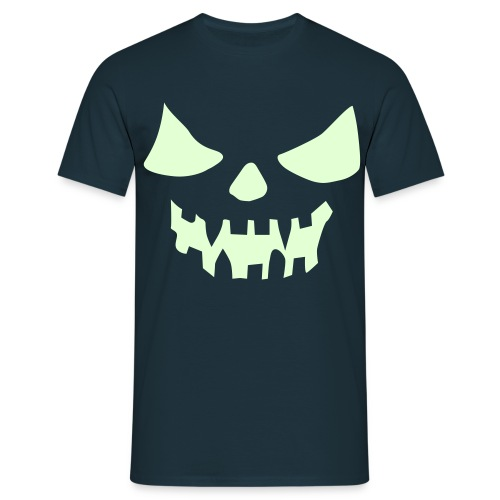 Camiseta luminiscente, Halloween - Camiseta hombre