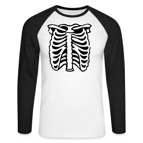Spécial bones - T-shirt baseball manches longues Homme
