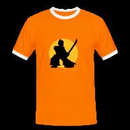 T-Shirts ~ Men's Ringer Shirt ~ Samurai T