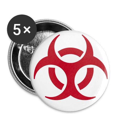 toxic - Rintamerkit isot 56 mm
