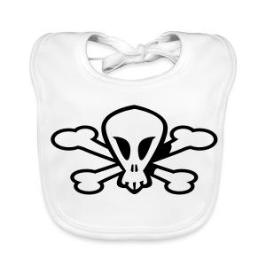 Baby Skull - Ekologiczny śliniaczek