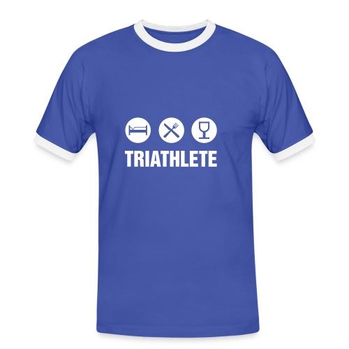 TRIATHLETE - Men's Ringer Shirt