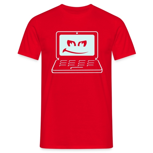 Computer Mad T shirt - Men's T-Shirt