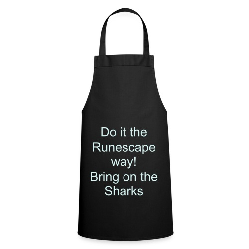I can cook sharks, me! - Cooking Apron