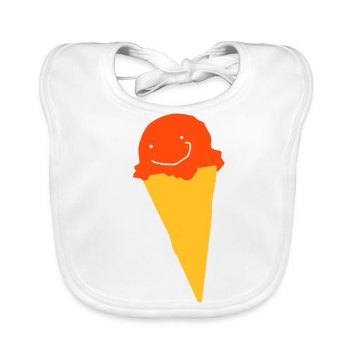 Ice cream bib - Baby Organic Bib