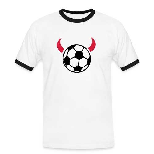 FOOTBALL DEVIL - Men's Ringer Shirt