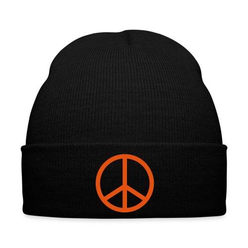 Frieden Mütze - Wintermütze