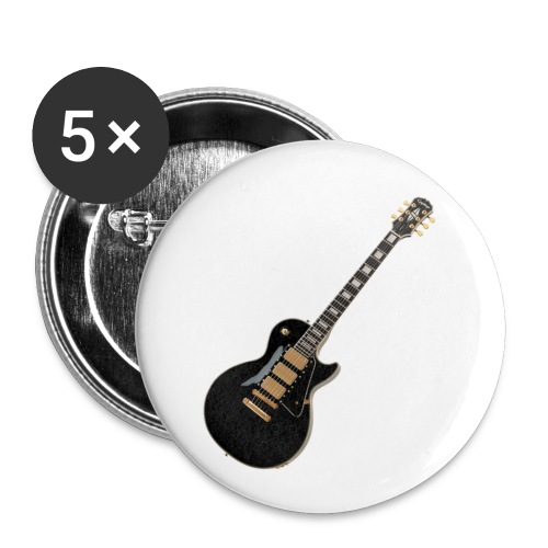 Epiphone black Button - Buttons klein 25 mm (5er Pack)